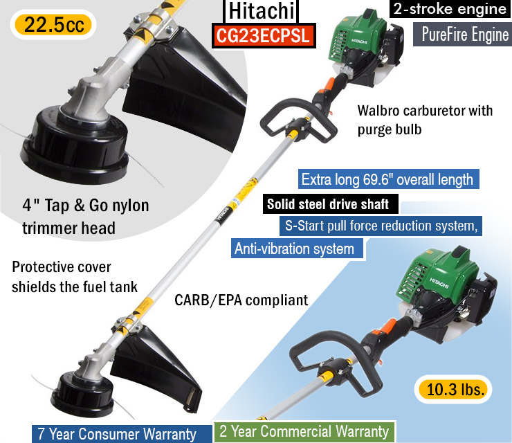 Hitachi CG23ECPSL